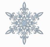 Berijpte sneeuwvlok royalty-vrije stock afbeeldingen
