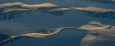 Take a picture of the ice on the bering strait(3) royalty free stock photo