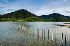 Beris Lake. View of Lake Beris in Kedah, Malaysia Royalty Free Stock Photography