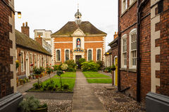 Berkeley Almshouses Worcester Worcestershire England het UK Royalty-vrije Stock Foto
