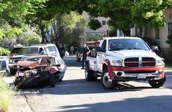 Berkeley Car Crash. In the afternoon Stock Photos