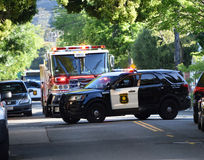 Berkeley Car Crash Royalty Free Stock Photos