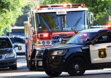 Berkeley Car Crash Royalty Free Stock Images