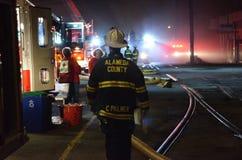 Berkeley Fire Stockbilder