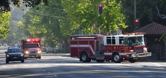 Berkeley Fire Department To The Rescue Royalty Free Stock Photo