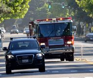 Berkeley Fire Department To The Rescue Royalty Free Stock Image