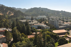 Berkeley and its hills, California Royalty Free Stock Image
