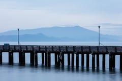 Berkeley Pier and Mount Tamalpais Royalty Free Stock Images