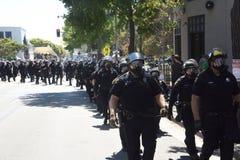 Berkeley Protests Against Fascism, Racism, and Donald Trump Stock Photos
