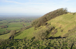 Berkeley Vale. With May Hill in the distance, viewed fron Coaley Peak Stock Photography