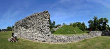 Berkhamsted castle panorama hertfordshire uk Royalty Free Stock Photo