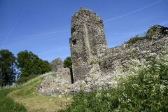 Berkhamsted castle ruins hertfordshire uk Royalty Free Stock Photography