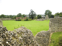 Berkhamsted castle ruins hertfordshire uk Royalty Free Stock Image