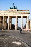 berkshires StadssymbolBrandenburg port, Tyskland arkivfoto