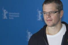 Matt Damon fotografía de archivo