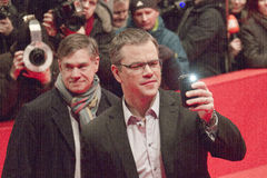 Matt Damon, Gus Van Sant foto de archivo