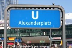 Berlín Alexanderplatz Fotos de archivo