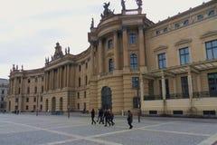 Berlín - Alte Bibliothek imagenes de archivo