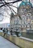 Berlín céntrica en un día de invierno Imagen de archivo