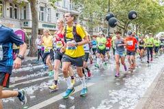 Berlín - 27 de septiembre de 2015 maratón Berlín Imagen de archivo libre de regalías
