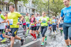 Berlín - 27 de septiembre de 2015 maratón Berlín Fotografía de archivo