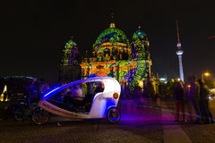 berlín Festival de las luces 2014 Imagen de archivo libre de regalías