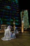 berlín Festival de las luces 2014 Foto de archivo libre de regalías