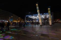 berlín Festival de las luces 2014 Fotografía de archivo libre de regalías