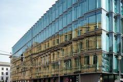 BERLÍN, GERMANY/EUROPE - 15 DE SEPTIEMBRE: Casa restaurada para la P.M. Foto de archivo libre de regalías