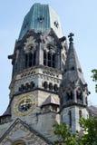 BERLÍN, GERMANY/EUROPE - 15 DE SEPTIEMBRE: Emperador Wilhelm Memorial Imagenes de archivo