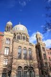 Berlín: Nueva sinagoga fotografía de archivo libre de regalías