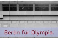 Berlín para Olympia Fotos de archivo libres de regalías