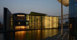 Berlín - Paul-Löbe-Haus Foto de archivo