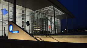 Berlín - Paul-Löbe-Haus Imagen de archivo libre de regalías