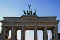 Berlín. Puerta de Brandenburgo Imagen de archivo libre de regalías