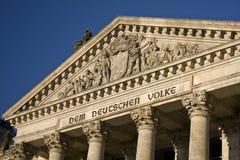 Berlín, Reichstag foto de archivo