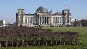 Berlín Reichstag metrajes