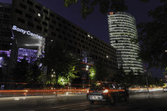 Berlín Sony se centra Imagen de archivo libre de regalías