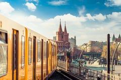 Berlín urbana, Alemania fotos de archivo libres de regalías