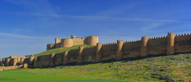 Berlanga de Duero Castillo Stock Photo