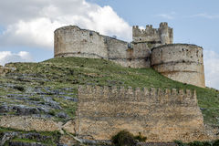 Berlanga de Duero Castle, Soria. Province, Castile and Leon, Spain royalty free stock images