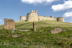 Berlanga de Duero Castle, Soria. Province, Castile and Leon, Spain royalty free stock photos