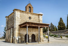 Berlanga de Duero Chapel of Our Lady of Solitude Stock Photography