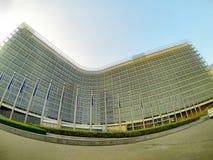Berlaymont building Royalty Free Stock Photography