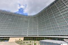 Berlaymont byggnad - Bryssel, Belgien royaltyfria foton