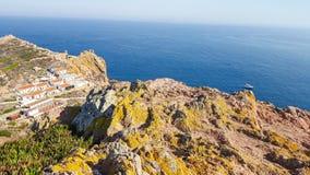 Berlenga海岛,葡萄牙 库存照片