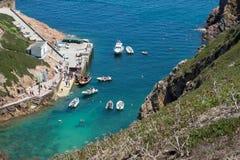 Berlenga海岛-葡萄牙 免版税库存图片