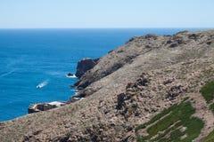 Berlenga海岛-葡萄牙 库存图片