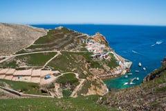 Berlenga-Insel - Portugal Stockfotos
