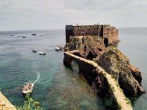 Berlengas ` fort Zdjęcie Stock